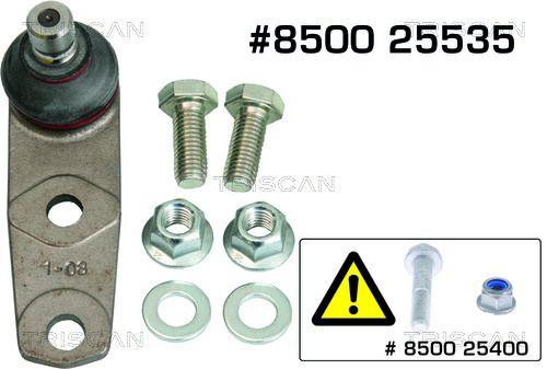 TRISCAN  8500 25535 Trag- / Führungsgelenk
