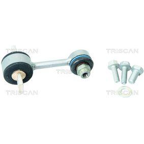 TRISCAN Stange/Strebe, Stabilisator 8500 29635 für AUDI A4 Cabriolet (8H7, B6, 8HE, B7) 3.2 FSI ab Baujahr 01.2006, 255 PS