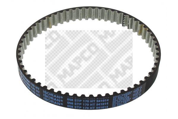 MAPCO  43838 Zahnriemen Breite: 17mm