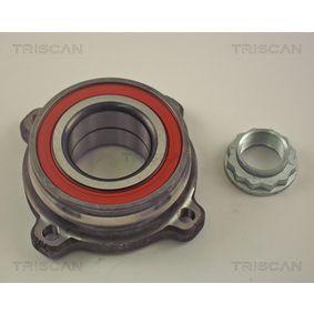 Radlagersatz Ø: 126mm, Innendurchmesser: 45mm mit OEM-Nummer 33411093725