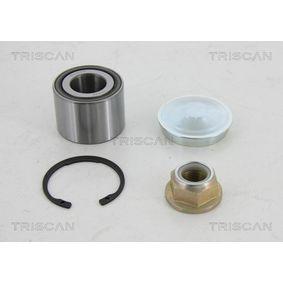 Renault Twingo 2 1.2 Turbo (CN0C, CN0F) Radlager TRISCAN 8530 25239 (1.2 Turbo Benzin 2013 D4F 782)