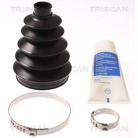 Faltenbalgsatz, Antriebswelle Innendurchmesser 2: 22mm, Innendurchmesser 2: 78mm mit OEM-Nummer 3293C1