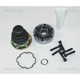 TRISCAN Gelenksatz, Antriebswelle 8540 29206 für AUDI COUPE (89, 8B) 2.3 quattro ab Baujahr 05.1990, 134 PS
