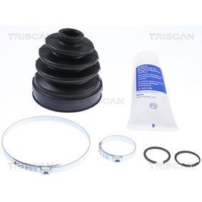TRISCAN Faltenbalgsatz, Antriebswelle 8540 29916 für AUDI A4 Cabriolet (8H7, B6, 8HE, B7) 3.2 FSI ab Baujahr 01.2006, 255 PS
