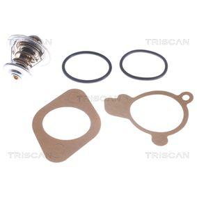 TRISCAN Thermostat, Kühlmittel 8620 2387 für AUDI 80 Avant (8C, B4) 2.0 E 16V ab Baujahr 02.1993, 140 PS