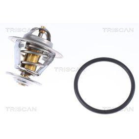 TRISCAN Thermostat, Kühlmittel 8620 3787 für AUDI A3 (8P1) 1.9 TDI ab Baujahr 05.2003, 105 PS