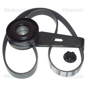 Spannrolle, Keilrippenriemen Breite: 18mm mit OEM-Nummer XS7E6 A228 BC