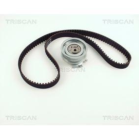 Zahnriemensatz für VW GOLF IV (1J1) 1.6 100 PS ab Baujahr 08.1997 TRISCAN Zahnriemensatz (8647 29022) für