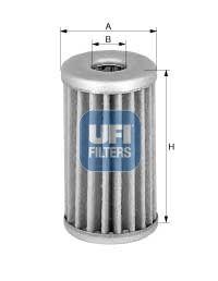 UFI  21.048.00 Kraftstofffilter Höhe: 115, 115,0mm