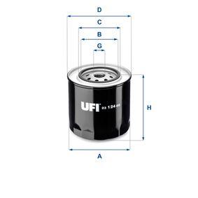 Filtre à huile Ø: 108,0mm, Diamètre extérieur 2: 72,0mm, Diamètre intérieur 2: 62,0mm, Hauteur: 113,0mm avec OEM numéro 4381608