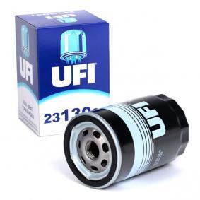 UFI Ölfilter 23.130.01 für AUDI 80 (81, 85, B2) 1.8 GTE quattro (85Q) ab Baujahr 03.1985, 110 PS