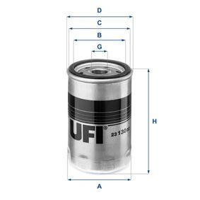 Ölfilter Ø: 76,0mm, Außendurchmesser 2: 71,0mm, Innendurchmesser 2: 61,0mm, Höhe: 123,0mm mit OEM-Nummer 11429061198