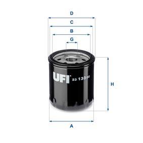 Ölfilter Ø: 76,0mm, Außendurchmesser 2: 71,0mm, Innendurchmesser 2: 61,0mm, Höhe: 92,0mm mit OEM-Nummer 93156956