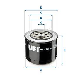 Ölfilter Ø: 90mm, Außendurchmesser 2: 64mm, Innendurchmesser 2: 57,5mm, Höhe: 80mm mit OEM-Nummer MD-030795