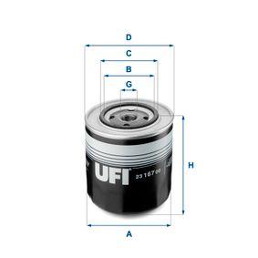 Ölfilter Ø: 108mm, Außendurchmesser 2: 72mm, Innendurchmesser 2: 62mm, Höhe: 113mm mit OEM-Nummer 1901606