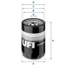 Filtre à huile Ø: 86,0mm, Diamètre extérieur 2: 82,3mm, Diamètre intérieur 2: 58,0mm, Hauteur: 101,0mm avec OEM numéro 9975161
