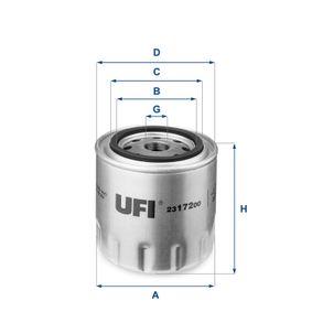 Ölfilter Ø: 96,0mm, Außendurchmesser 2: 72,0mm, Innendurchmesser 2: 62,0mm, Höhe: 96,5mm mit OEM-Nummer 830424