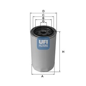 Oil Filter Ø: 76,0mm, Outer diameter 2: 71,0mm, Inner Diameter 2: 61,0mm, Height: 149,0mm with OEM Number 7604770