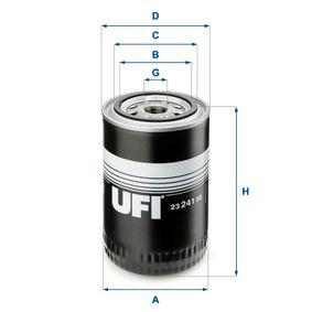 Ölfilter Ø: 96,0mm, Außendurchmesser 2: 72,0mm, Innendurchmesser 2: 62,0mm, Höhe: 140,0mm mit OEM-Nummer 50 00 041 045