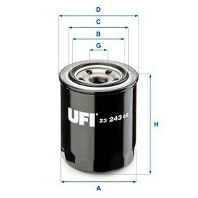 Ölfilter Ø: 82mm, Außendurchmesser 2: 63mm, Innendurchmesser 2: 55mm, Höhe: 99,5mm mit OEM-Nummer 8173-23802