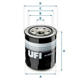 Ölfilter Ø: 102mm, Außendurchmesser 2: 79mm, Innendurchmesser 2: 71mm, Höhe: 121,5mm mit OEM-Nummer 11977090620