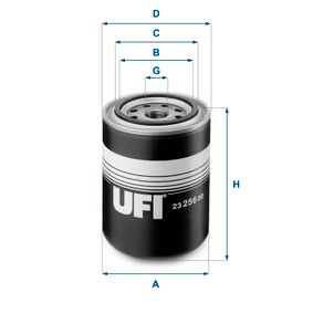 Filtro de aceite Ø: 93,0mm, Diámetro exterior 2: 72,0mm, Diám. int. 2: 62,0mm, Altura: 128,0mm con OEM número 1112 652