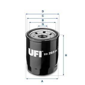 Artikelnummer 23.265.00 UFI Preise