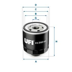 Olajszűrő Ø: 76,0mm, Külső átmérő 2: 71,5mm, Belső átmérő 2: 63,5mm, Magasság: 77,0mm a OEM számok 030115561F