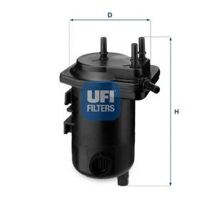 UFI Ölfilter 23.291.00 für AUDI 80 (8C, B4) 2.8 quattro ab Baujahr 09.1991, 174 PS