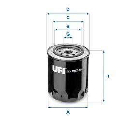 Ölfilter Ø: 96,0mm, Außendurchmesser 2: 72,0mm, Innendurchmesser 2: 62,0mm, Höhe: 110,0mm mit OEM-Nummer ETC 6599