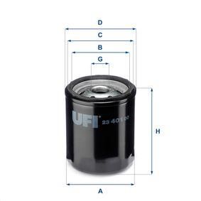 Ölfilter Ø: 76,0mm, Außendurchmesser 2: 71,0mm, Innendurchmesser 2: 61,0mm, Höhe: 92,0mm mit OEM-Nummer 7700734937