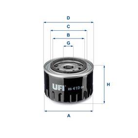 Ölfilter Ø: 96,5mm, Außendurchmesser 2: 71,5mm, Innendurchmesser 2: 61,5mm, Höhe: 70,0mm mit OEM-Nummer J087 1919