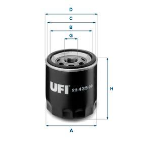 Ölfilter Ø: 76mm, Außendurchmesser 2: 71mm, Innendurchmesser 2: 61mm, Höhe: 92mm mit OEM-Nummer 04105 409AC