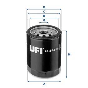 Ölfilter Ø: 76mm, Außendurchmesser 2: 71mm, Innendurchmesser 2: 61mm, Höhe: 102,5mm mit OEM-Nummer 1109.W7