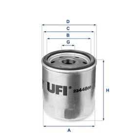 Ölfilter Ø: 76mm, Außendurchmesser 2: 71mm, Innendurchmesser 2: 61mm, Höhe: 87,5mm mit OEM-Nummer 46805830