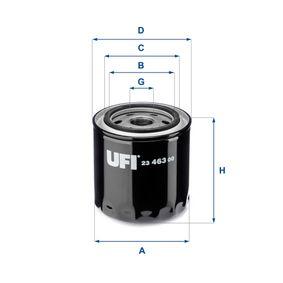 Ölfilter Ø: 93,0mm, Außendurchmesser 2: 72,0mm, Innendurchmesser 2: 62,0mm, Höhe: 101,0mm mit OEM-Nummer AJ04 14 302 B
