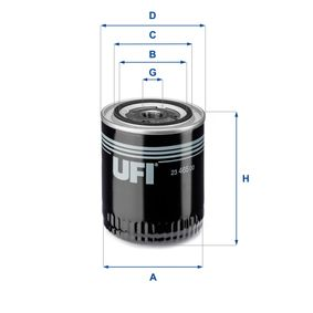 UFI Ölfilter 23.465.00 für AUDI A4 Avant (8E5, B6) 3.0 quattro ab Baujahr 09.2001, 220 PS