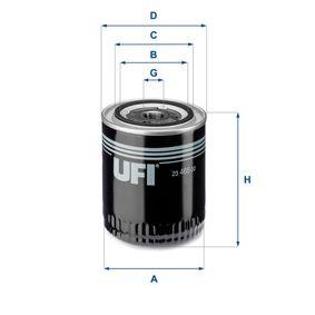 Ölfilter Ø: 93mm, Außendurchmesser 2: 71mm, Innendurchmesser 2: 62mm, Höhe: 114mm mit OEM-Nummer 078115561 H