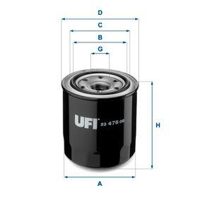 Oil Filter 23.476.00 RAV 4 II (CLA2_, XA2_, ZCA2_, ACA2_) 2.0 D 4WD (CLA20_, CLA21_) MY 2001