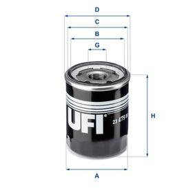 Ölfilter Ø: 68,0mm, Außendurchmesser 2: 64,0mm, Innendurchmesser 2: 57,0mm, Höhe: 85,0mm mit OEM-Nummer A0001802810