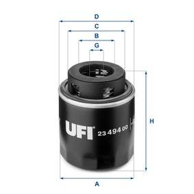 Passat B6 1.4TSI Zahnriemen UFI 23.494.00 (1.4 TSI Benzin 2010 CAXA)