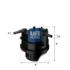 2014 Peugeot 107 PN 1.4 HDi Fuel filter 24.015.00