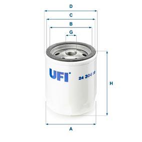 Filtre à carburant Hauteur: 92,0mm avec OEM numéro 748620