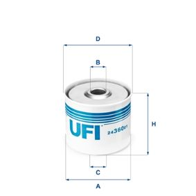 Fuel filter Article № 24.360.01 £ 140,00