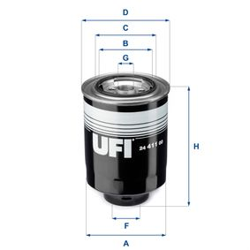 Fuel filter Height: 130,0mm with OEM Number R2N513ZA5A 9A