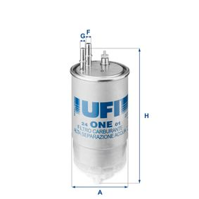 N° d'articolo 24.ONE.01 UFI prezzi