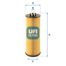 Ölfilter Ø: 73mm, Innendurchmesser 2: 15mm, Innendurchmesser 2: 36mm, Höhe: 199mm mit OEM-Nummer 059 115 562