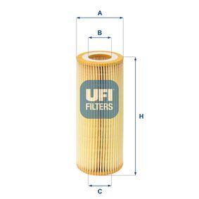 Ölfilter Ø: 63,5mm, Innendurchmesser 2: 31mm, Innendurchmesser 2: 31mm, Höhe: 155mm mit OEM-Nummer 1142 7 787 697