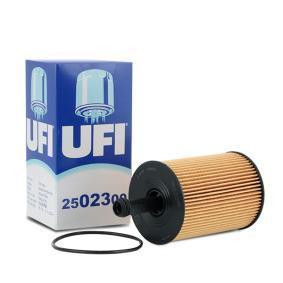 UFI Ölfilter 25.023.00 für AUDI A3 (8P1) 1.9 TDI ab Baujahr 05.2003, 105 PS