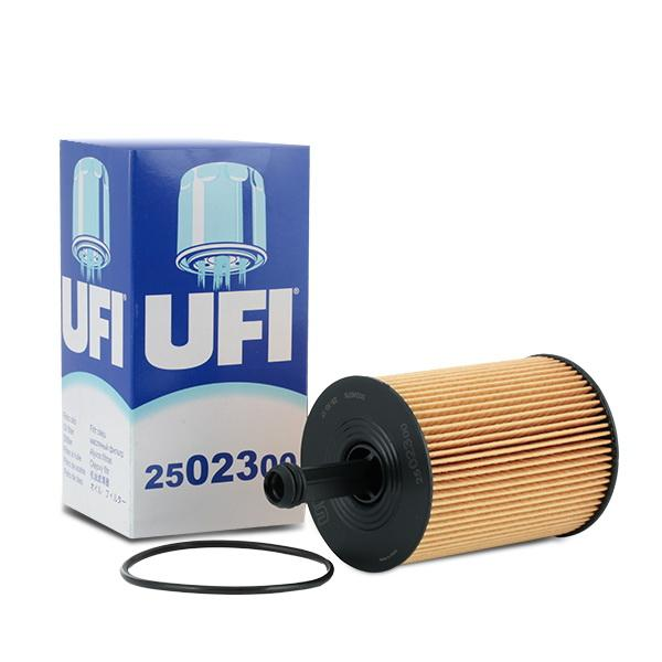 Filtro de aceite de motor UFI 25.023.00 conocimiento experto